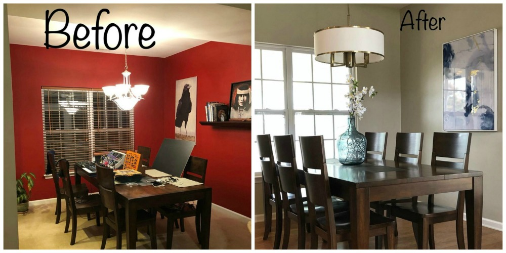 dark colors are not the best paint colors to sell your home because they make a room look small