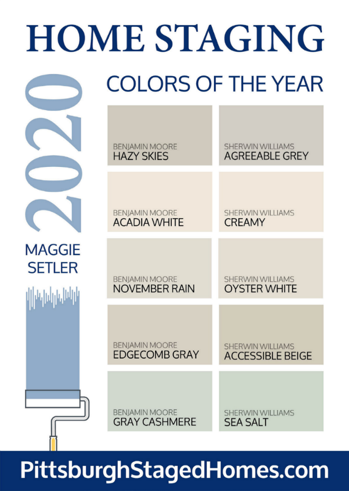 these are the best paint colors to paint your home for sale in 2020